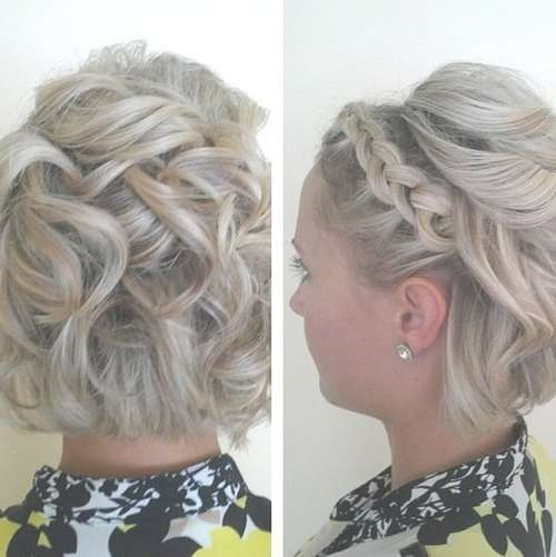 Displaying Gallery of Wedding Updos For Bob Haircuts (View 3 of 15 ...