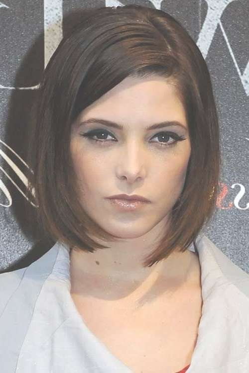 Best 25+ Bobs For Round Faces Ideas On Pinterest | Short Hair Cuts Inside Bob Haircuts For Fine Hair And Round Faces (View 5 of 15)