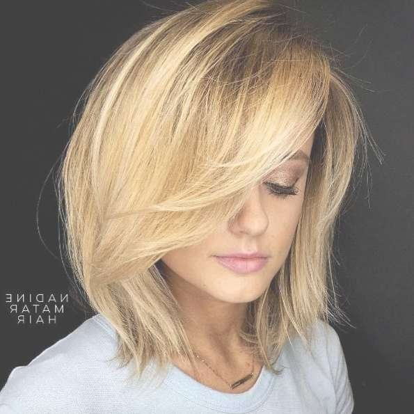 Best 25+ Bobs For Thick Hair Ideas On Pinterest | Short Bob Thick Pertaining To Medium Length Bob Haircuts For Thick Hair (View 13 of 15)