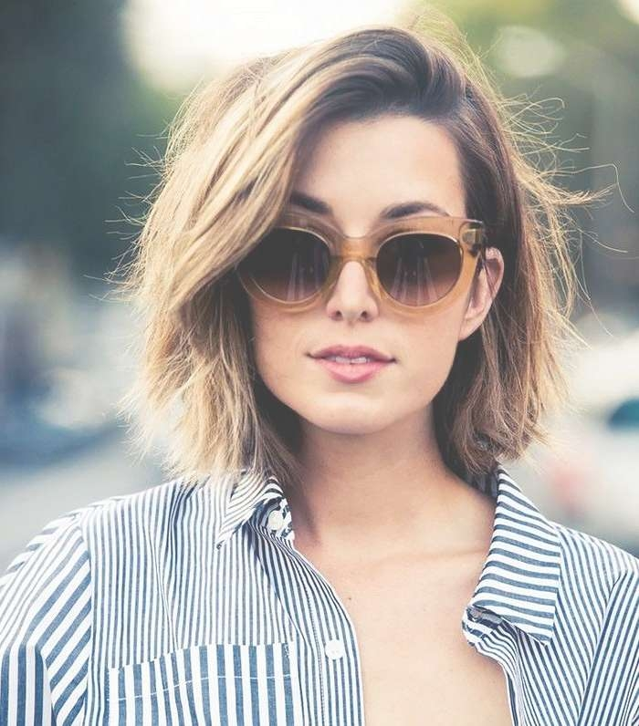 Best 25+ Bobs For Thick Hair Ideas On Pinterest | Short Bob Thick Regarding Cute Bob Hairstyles For Thick Hair (View 8 of 15)