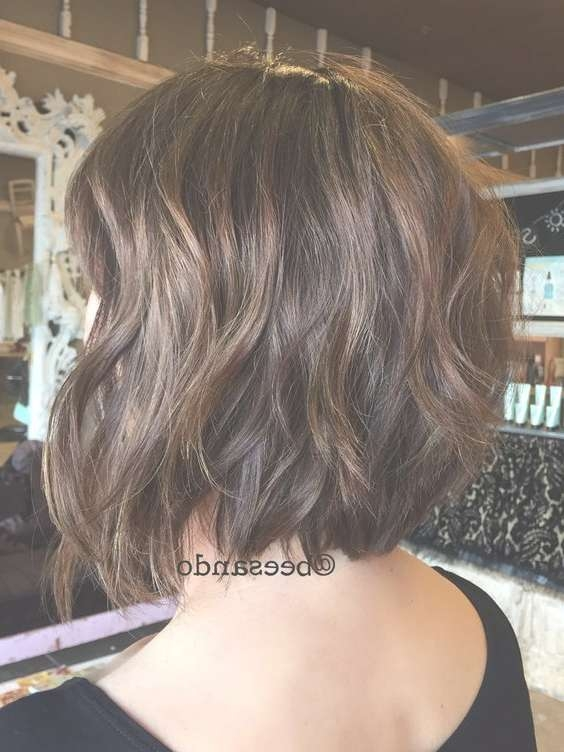 Best 25+ Bobs For Thick Hair Ideas On Pinterest | Short Bob Thick With Regard To Layered Bob Haircuts For Thick Wavy Hair (View 11 of 15)