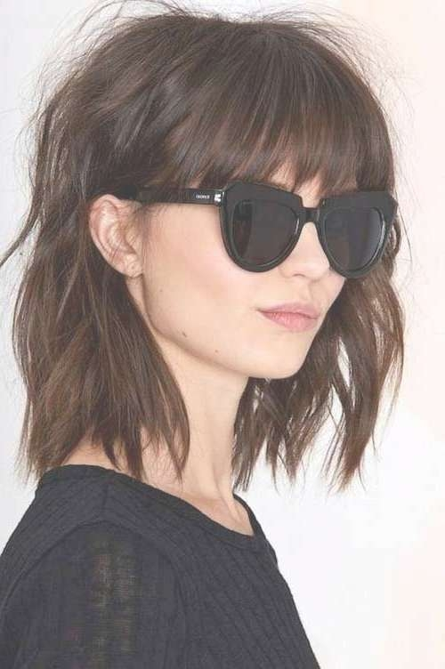 Best 25+ Brown Bob Hair Ideas On Pinterest | Brown Balayage Bob With Short Brown Bob Haircuts (View 8 of 15)