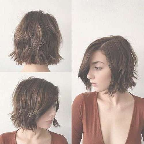 Best 25+ Brunette Bob Haircut Ideas On Pinterest | Blunt Bob Throughout Brunette Bob Haircuts (View 6 of 15)