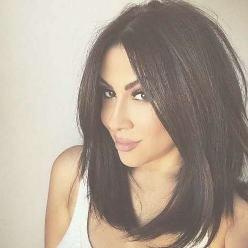 Explore Gallery of Brunette Long Bob Haircuts (Showing 8 of 15 Photos)