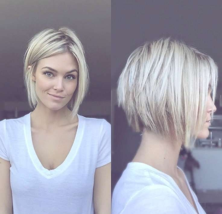 Best 25+ Choppy Bob Hairstyles Ideas On Pinterest | Messy Bob With Regard To Short Blonde Bob Hairstyles (View 4 of 15)
