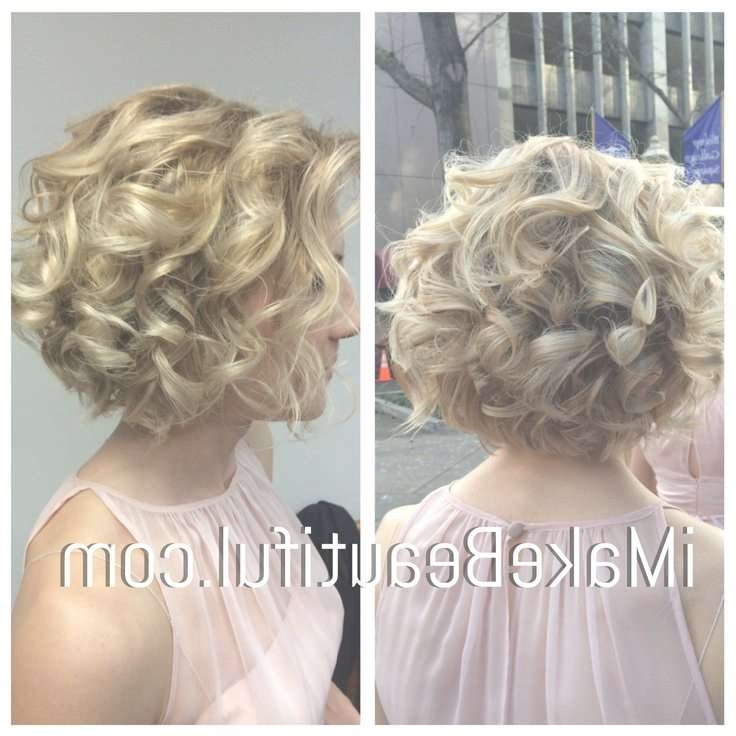 Best 25+ Curled Bob Ideas On Pinterest | Curled Bob Hairstyle Regarding Bob Hairstyles Updo Styles (View 14 of 15)