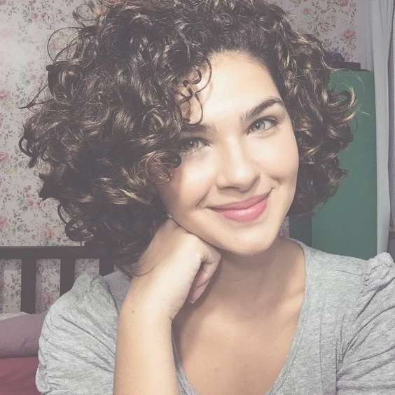 Best 25+ Curly Bob Hairstyles Ideas On Pinterest | Medium Wavy Bob In Cute Curly Bob Haircuts (View 5 of 15)