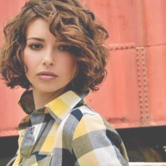 Best 25+ Curly Bob Hairstyles Ideas On Pinterest | Medium Wavy Bob Inside Layered Bob Haircuts For Curly Hair (View 13 of 15)