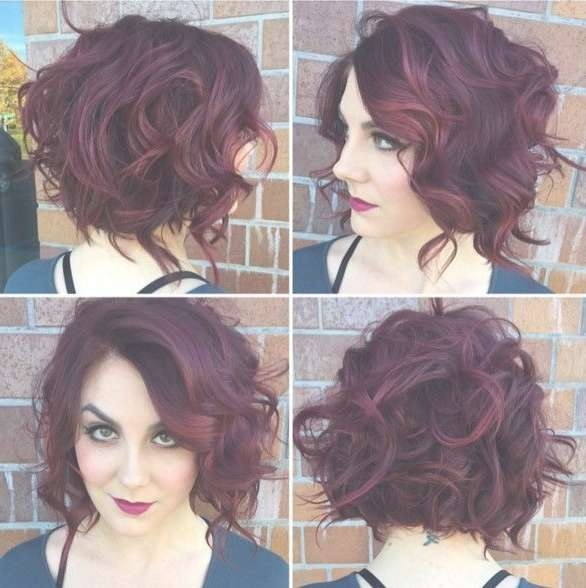 Best 25+ Curly Bob Hairstyles Ideas On Pinterest | Medium Wavy Bob Throughout Bob Hairstyles For Curly Hair (View 11 of 15)