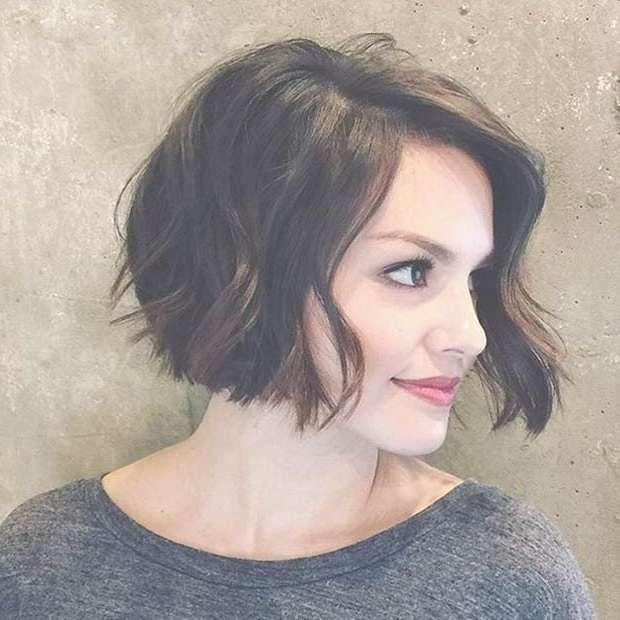 Best 25+ Cute Bob Hairstyles Ideas On Pinterest | Messy Bob, Short Pertaining To Cute Curly Bob Haircuts (View 8 of 15)