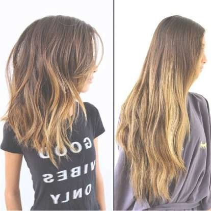 Best 25+ Extra Long Bobs Ideas On Pinterest | Long Lob, Long Bobs Intended For Very Long Bob Haircuts (View 2 of 15)