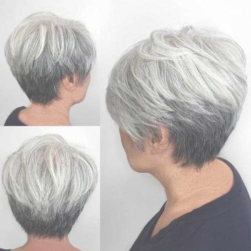 Best 25+ Gray Hairstyles Ideas On Pinterest | Short Gray Within Gray Bob Haircuts (View 10 of 15)