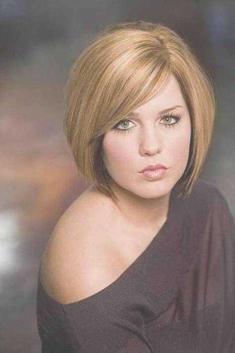 Best 25+ Hairstyles For Round Faces Ideas On Pinterest | Haircuts Pertaining To Bob Haircuts For Chubby Faces (View 15 of 15)