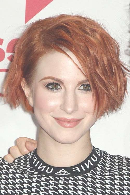 Best 25+ Hayley Williams Short Hair Ideas On Pinterest | Hayley Pertaining To Hayley Williams Bob Haircuts (View 2 of 15)