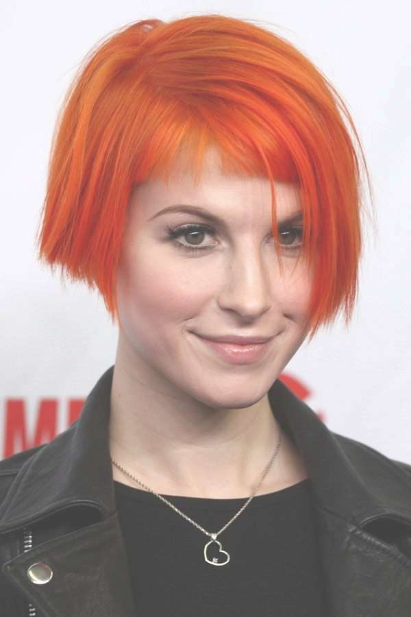 Best 25+ Hayley Williams Short Hair Ideas On Pinterest | Hayley With Hayley Williams Bob Haircuts (View 15 of 15)