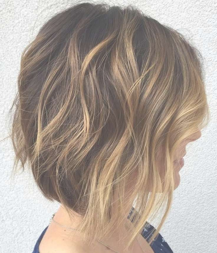 Best 25+ Highlighted Bob Ideas On Pinterest   Bobbed Haircuts Intended For Bob Haircuts With Highlights (View 4 of 15)