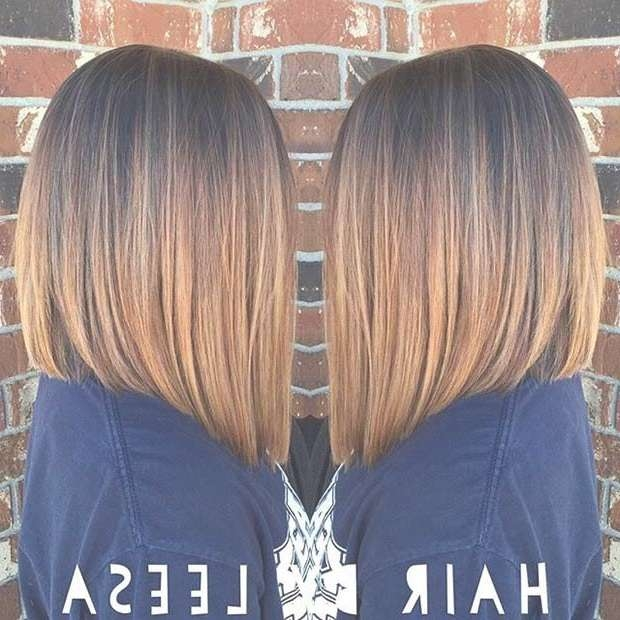 Best 25+ Highlighted Bob Ideas On Pinterest | Bobbed Haircuts Pertaining To Med Length Bob Haircuts (View 6 of 15)