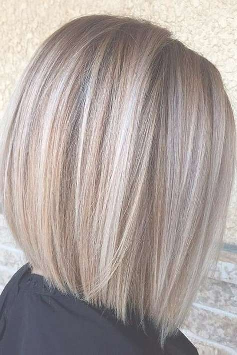 Best 25+ Highlighted Bob Ideas On Pinterest | Bobbed Haircuts Regarding Bob Hairstyles With Highlights (View 9 of 15)