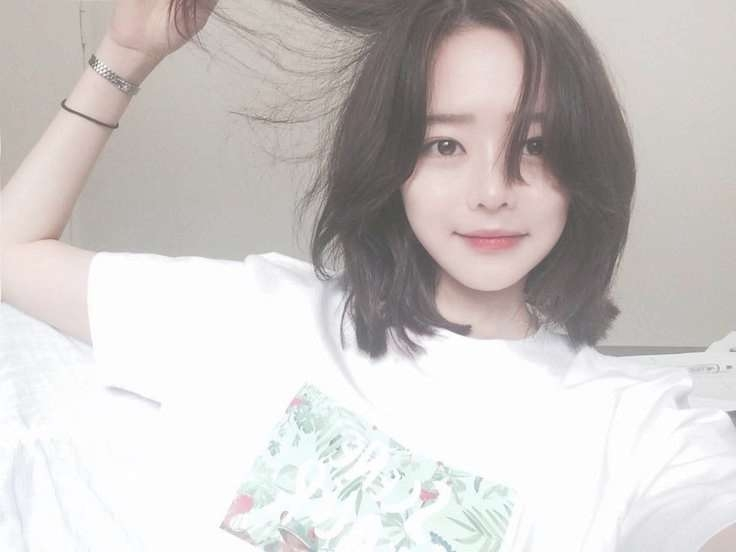Best 25+ Korean Short Hair Ideas On Pinterest | Asian Short Hair Within Korean Bob Haircuts (View 9 of 15)