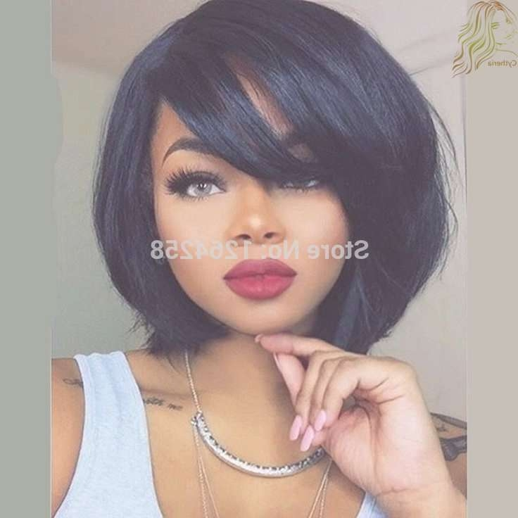 Photo Gallery Of Cute Bob Hairstyles For Black Women Showing 7 Of