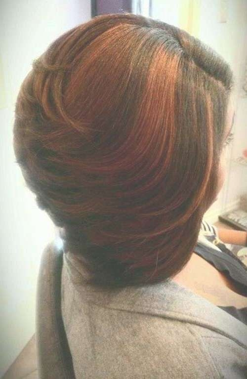 Best 25+ Layered Bob Hairstyles For Black Women Ideas On Pinterest In Layered Bob Haircuts For Black Women (View 4 of 15)