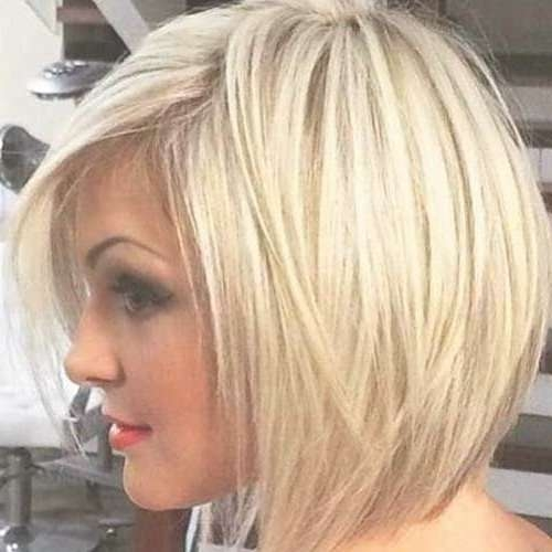 Best 25+ Layered Bob Hairstyles Ideas On Pinterest | Short Bob With Blonde Layered Bob Hairstyles (View 2 of 15)