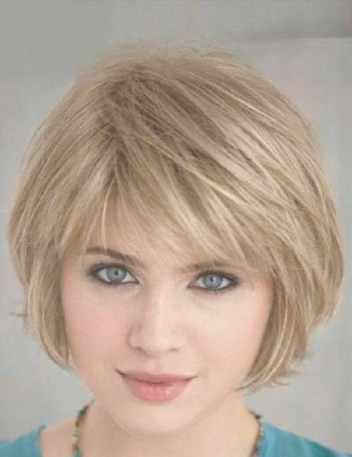 Best 25+ Layered Bob With Bangs Ideas On Pinterest | Hair Cuts For Within Short Bob Hairstyles With Bangs And Layers (View 3 of 15)