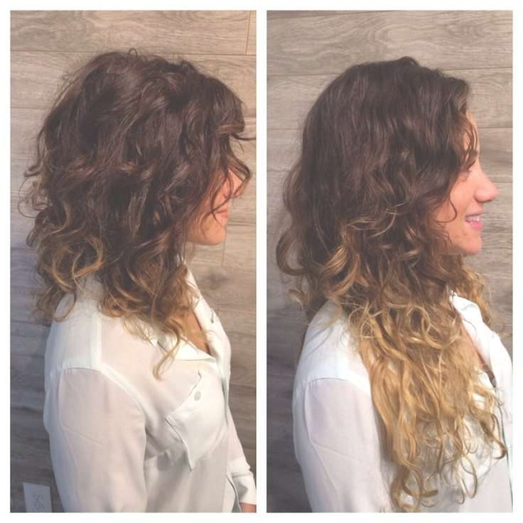 Best 25+ Layered Curly Haircuts Ideas On Pinterest | Curly Layers Pertaining To Layered Bob Haircuts For Curly Hair (View 6 of 15)