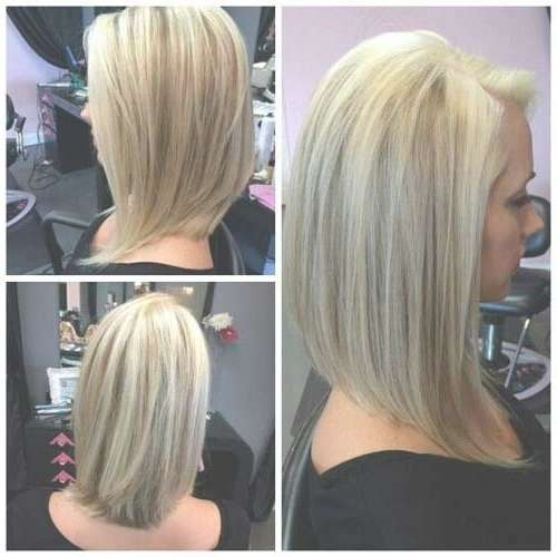 Best 25+ Long Angled Bob Hairstyles Ideas On Pinterest   New With Very Long Bob Hairstyles (View 5 of 15)