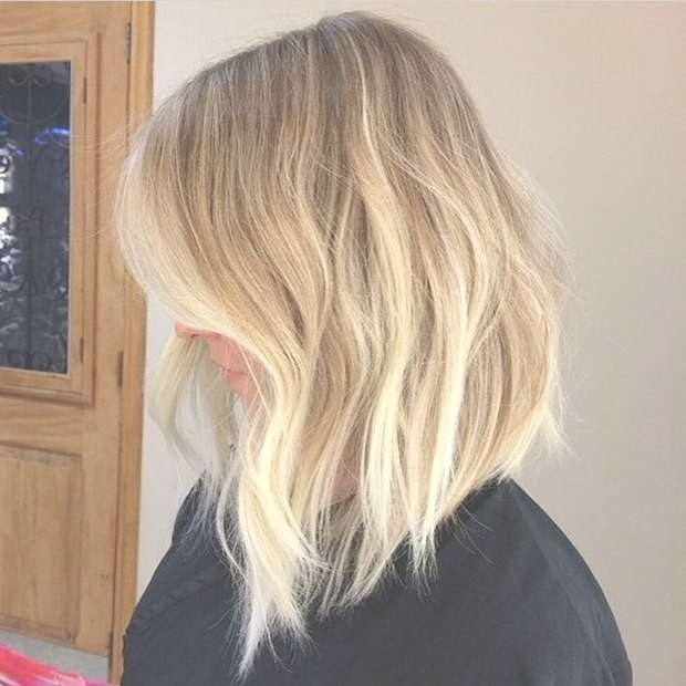 Best 25+ Long Bob Blonde Ideas On Pinterest | Long Bob With Layers Intended For Long Blonde Bob Hairstyles (View 8 of 15)
