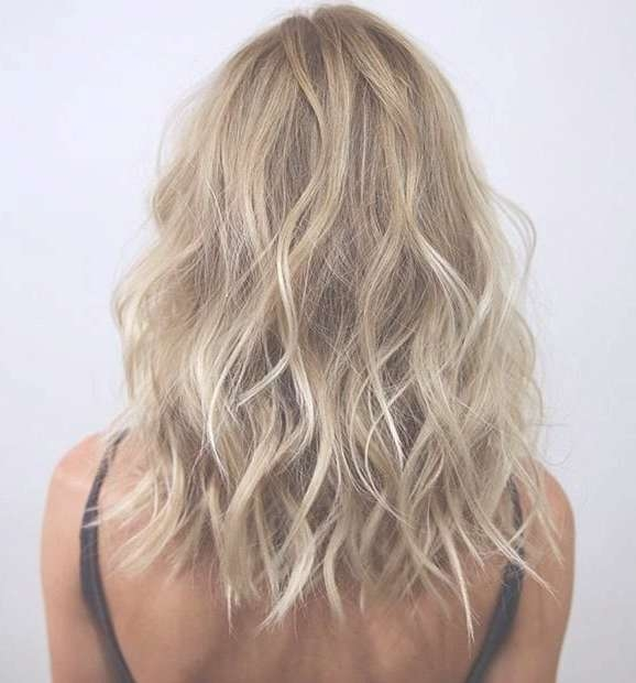 Best 25+ Long Bob Blonde Ideas On Pinterest | Long Bob With Layers Intended For Long Blonde Bob Hairstyles (View 5 of 15)