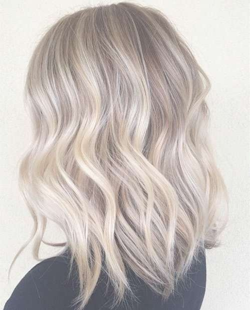Best 25+ Long Bob Blonde Ideas On Pinterest | Long Bob With Layers Pertaining To Blonde Long Bob Haircuts (View 13 of 15)