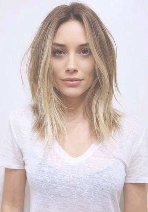 Best 25+ Long Bob Blonde Ideas On Pinterest | Long Bob With Layers Pertaining To Long Blonde Bob Hairstyles (View 12 of 15)