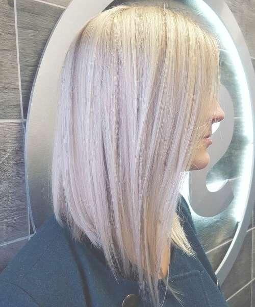 Best 25+ Long Bob Haircuts Ideas On Pinterest | Blonde Long Bob Throughout Very Long Bob Haircuts (View 10 of 15)