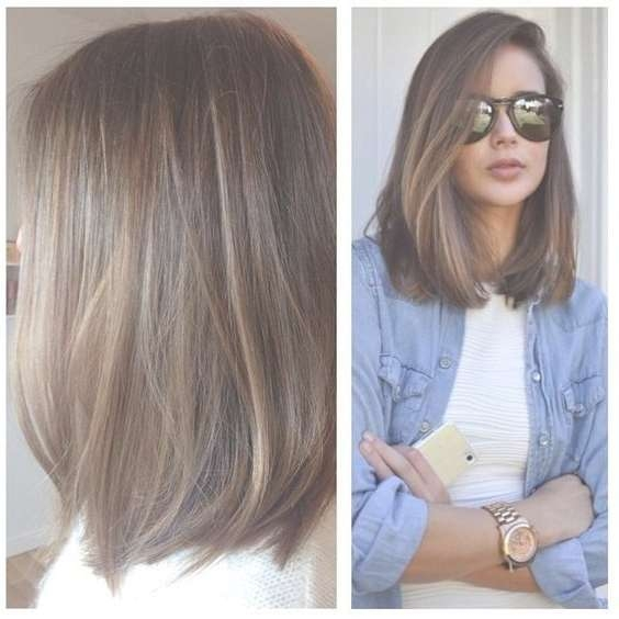 Best 25+ Long Bob Hairstyles For Thick Hair Ideas On Pinterest Pertaining To Long Bob Haircuts For Thick Hair (View 15 of 15)