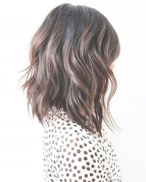 Best 25+ Long Bob Hairstyles Ideas On Pinterest   Long Bobs With Long Bob Haircuts (View 6 of 15)