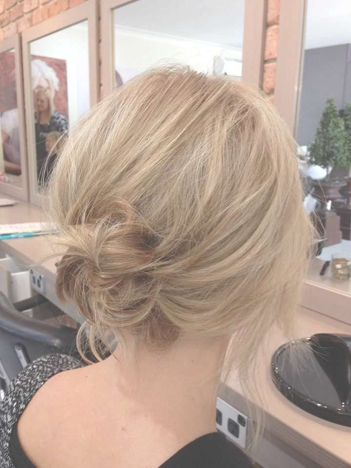 Photo Gallery Of Bob Hairstyles Updo Styles Showing 9 Of 15 Photos