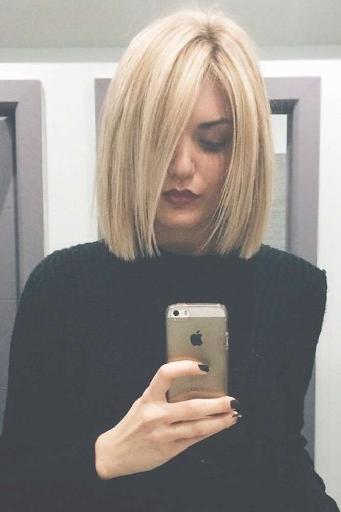 Best 25+ Medium Blonde Bob Ideas On Pinterest | Bobs Clothing With Blonde Bob Haircuts (View 9 of 15)