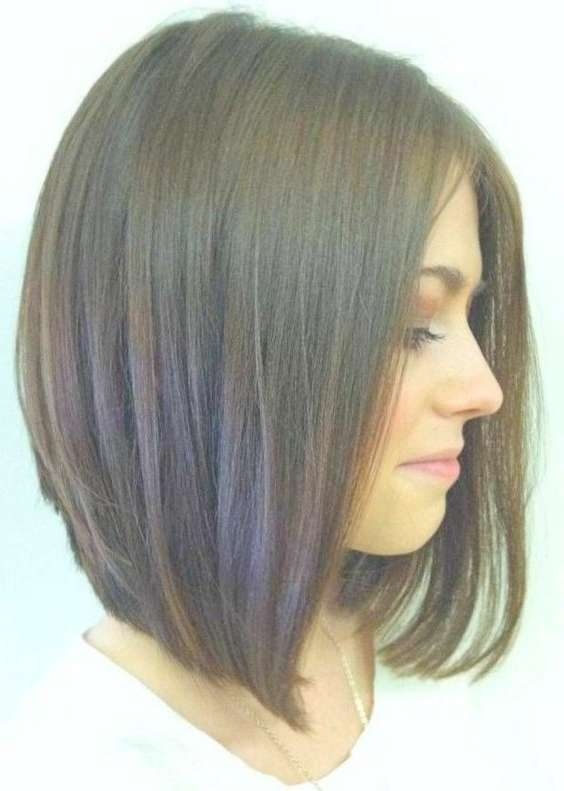 Best 25+ Medium Bob Haircuts Ideas On Pinterest | Short To Long With Regard To Medium Bob Haircuts For Women (View 2 of 15)