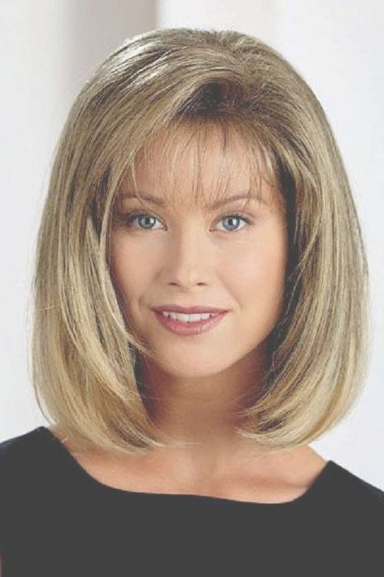 mid length haircuts with bangs medium bob hairstyles with bangs hairstyles 1454