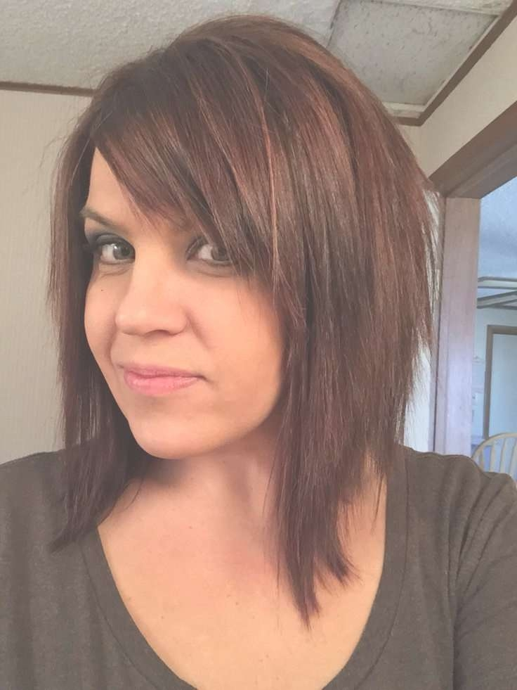 View Photos Of Medium Bob Haircuts With Side Bangs Showing 5 Of 15
