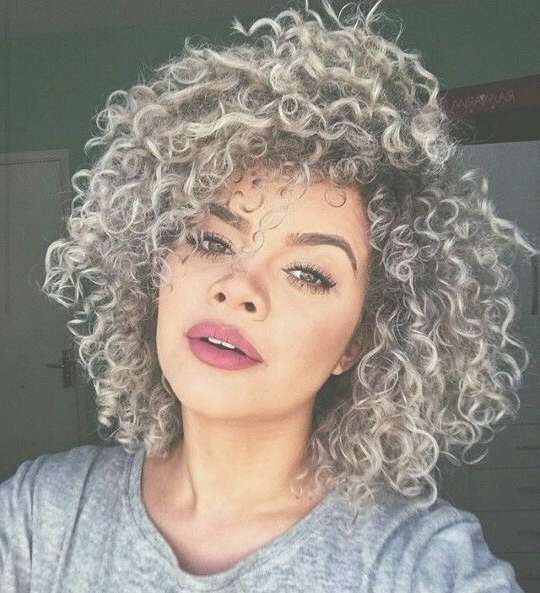 Best 25+ Medium Curly Bob Ideas On Pinterest | Curly Medium Length For Bob Hairstyles For Curly Thick Hair (View 11 of 15)