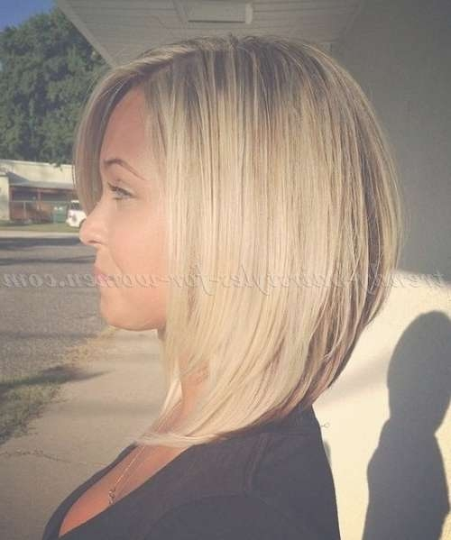 Best 25+ Medium Dark Hairstyles Ideas On Pinterest | Medium Thick Intended For Med Length Bob Haircuts (View 14 of 15)
