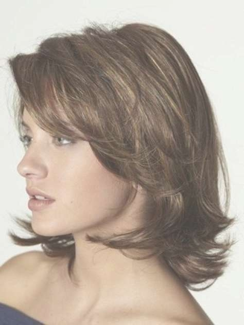 Best 25+ Medium Layered Bobs Ideas On Pinterest | Short Medium Throughout Layered Bob Haircuts For Wavy Hair (View 7 of 15)