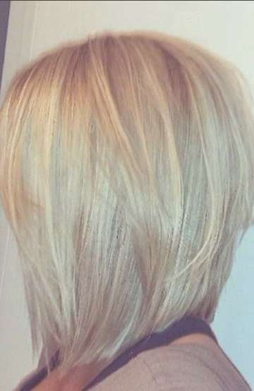 Best 25+ Medium Length Bobs Ideas On Pinterest | Graduated Bob With Med Length Bob Haircuts (View 10 of 15)