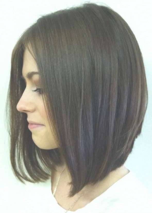 Best 25 Medium Length Bobs Ideas On Pinterest Graduated Bob With Regard To Shoulder