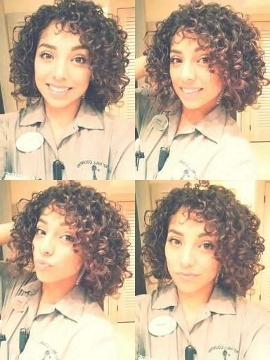 Best 25+ Naturally Curly Bob Ideas On Pinterest | Natural Curls Pertaining To Natural Curly Bob Hairstyles (View 10 of 15)