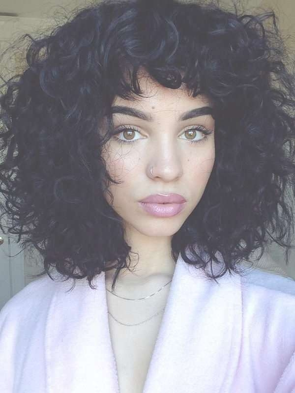 Best 25+ Naturally Curly Bob Ideas On Pinterest | Natural Curls Regarding Natural Curly Bob Hairstyles (View 13 of 15)