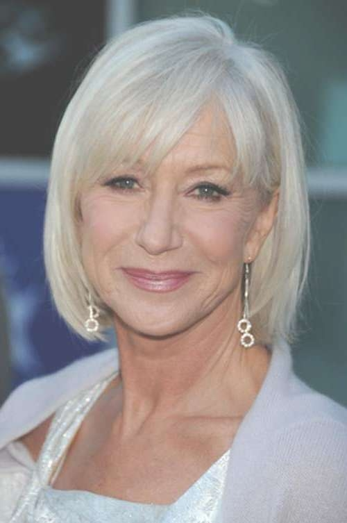 Best 25+ Older Women Hairstyles Ideas On Pinterest   Short Hair For Bob Haircuts For Older Women (View 14 of 15)