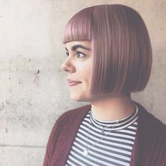 Best 25+ One Length Bobs Ideas On Pinterest | One Shoulder Hair Inside Different Length Bob Haircuts (View 7 of 15)